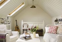 Attic Spaces / Inspiration for those spaces that usually just get piled with boxes!