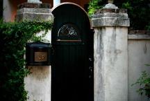 ворота, заборы, ограды