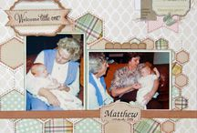 My Scrapbooking layouts / Layouts that I've created and really like how they turned out!