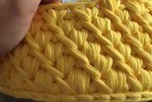 Crochet nuevo bolsa