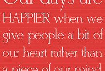 words to live by / by Angela Kemp