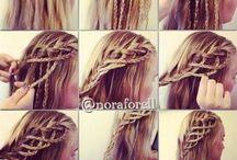 Hair / Fajne fryzury do wypróbowania :)
