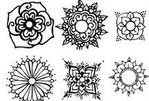 Rysunki,  tatuaże