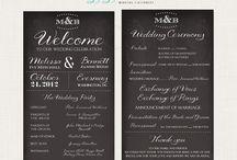 Wedding Programs / by Bethany Hart