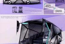 Car Sketches by CDA students