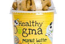 Gluten Free Dog Treats | Grain Free Dog Treats / Gluten free and grain free all natural dog treats from Healthy Dogma.  http://www.healthydogma.com/grain-free-treats/