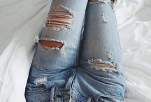 ☆Ripped jeans☆