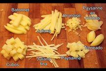 patatas tipos de cortes