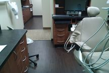 Brenner Family Dental Clinic / New flooring in the newly remodeled space in Rockford, Minnesota
