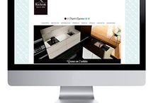 """Trabajos """"Diseño Web"""" / Aquí presentamos los trabajos realizados en el campo de diseño Web."""