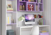 escritorio para niñas