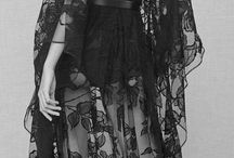 flowing femininity / ooh if only..I love bright colors lace ruffles and would love to have any of the gowns