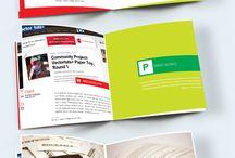Booklet design inspiration