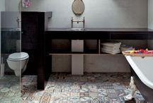 Bathroom patchwork