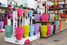 Onze winkel / Twee maal per jaar wordt onze winkel geheel omgegooid voor het voorjaar of kerst seizoen.
