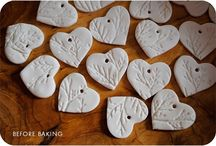 Polymer Clay Hearts