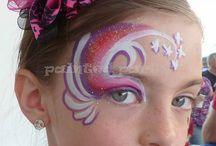 face painting principessa
