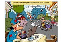 Hilvertoon / Pieter Hogenbirk en Martin Heynen zijn de mannen achter de Hilvertoon. In deze Hilversumse cartoonreeks benaderen ze de Hilversumse actualiteit op hun eigen originele manier.