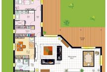 House map - plans