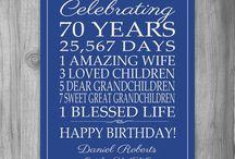 Ross's birthday