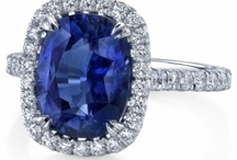 September Sapphire / Sapphire is the birthstone for September; while traditionally blue, multicolored sapphires have begun to dominate the jewelry world! Royal Jewelers can find you the perfect sapphire in every color of the rainbow!