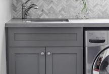 LAUNDRY ROOM IDEAS / beautiful laundry rooms. / by cristin priest | simplified bee