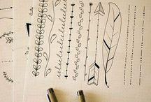 ozdobaornament for notebook♥ / no cóż ja uwielbiam ozdabiać zeszyty a tutaj znajdziesz na każde zajęcie