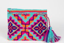 crochet tapestry clutch