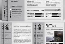 CV Design / Here you can find tons of CV design inspiration to boost up your portfolio layout. CV | Portfolio | Design | Layout | Colour | Resume | Profile