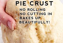 dough and pie crust