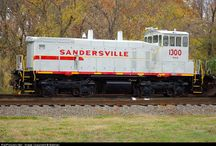 Train - SAN - Sandersville Railroad