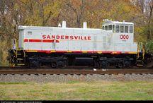 Train - SAN - Sandersville Railroad