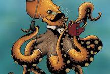 Octopus Pieuvre Poulpe Polpo Tintenfisch