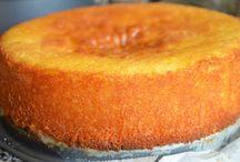 Polenta cake.