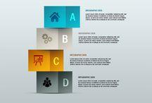 Free PSD Graphic Design Infograpics