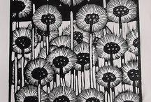 Lino Prints / Lino prints