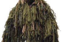 Ghillie / Mummers, camouflage costumes, and whatever the opposite of camouflage is.