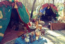 Gypsy Escape / Blending vintage gypsy and bohemian with middle eastern and Moroccan influences. Fabulous hideaways, caravans, and home decor helping you escape into a gypsy world. / by Gypsy Thread ~ Carey