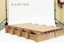 Karton Bútor - Cardboard