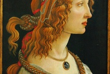 Female beauty in art / The representation of female beauty has been played by the greatest Italian artists. Here a selection of the finest opere