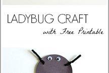 BUBURUZE - ladybug craft