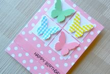 Birthday cards - girls