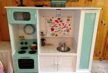 Fit play kitchen for the girls