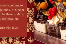 Christmas time / Christmas is coming to the Gelateria De' Medici!  We will be there to show you our creations.