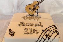 21st Cakes Boy