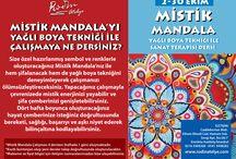 Mistik Mandala Etkinlikler / Mistik Mandala Eğitimleri İçin bilgi ve irtibat: www.rodinatelye.com