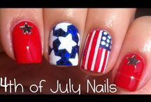 4th of July Nail Art & Designs / 4th of July Nail art, designs, tutorials, and products.   https://www.avon.com/category/makeup/nails?repid=16581277