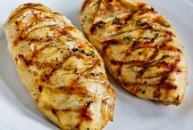 Main Dishes - Chicken/Turkey / Chicken or Turkey - so versatile - such a good and healthy meal choice  / by vicki massie