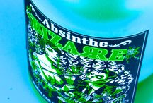 Absinthe Bizarre Art / Have a look at this wonderful and bizarre Swiss Absinthe Bottle. www.absinthedistribution.ch