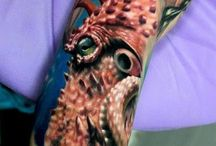 Octopus Tattoo / http://www.tattoosideas.co.uk/octopus-pictures.html